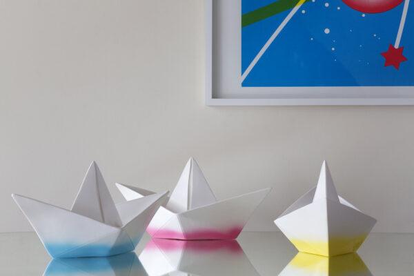 Pappersbåt